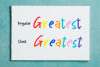 Greatest Holiday - pencil font - example image 9