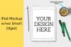 iPad Mock-up w/wo Smart Object - 2160x2160px example image 1