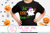 Fab Boo Lous SVG, Halloween Girl SVG, Bow, Ghost, Girl, Baby example image 1