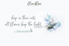 Flowerbloom Font Trio example image 2