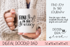 Inspirational SVG |Find Joy | Silhouette & Cricut Cut File example image 2