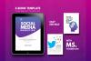 Social Media Tips & Marketing eBook Template example image 1
