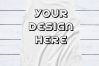 Alternative 4013 Ladies' Cap Sleeve Flat T-Shirt Mockups - 6 example image 4