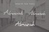 Almairah Family Font example image 6