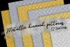 Metallic Diamond Patterns example image 1