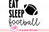 Football svg, Football fan cut file, Fall svg example image 1