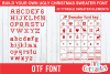 Ugly Christmas Sweater font example image 1