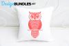 Owl paper cut design example image 2