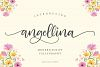 Angellina - Modern Script example image 1