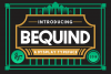 BEQUIND MODERN CLEAN AND BOLD DIDPLAY FONT example image 10