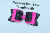 Hair bow template bundle #2 - hairbow svg files - diy bows example image 3
