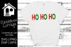HO HO HO SVG example image 1