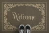 Doormat Mockup, Welcome Mat Mock Up, PSD, Smart Object & JPG example image 5