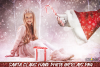 Christmas overlays Santa Claus Hand clipart png Photoshop example image 1