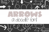 Arrows - A Doodle Font example image 1