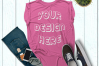Women's Rolled Cuffs Tank Mockups - 7 example image 4