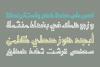 Tashabok - Arabic Font example image 3