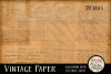 Vintage Paper Backgrounds - Vintage Texture Digital Papers example image 5