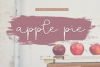 Apple Pie - A Handwritten Script Font example image 1