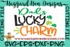 Dad's Lucky Charm SVG example image 2
