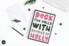 CHRISTMAS FONT BUNDLE - 4 Hand Lettered Christmas Fonts example image 7