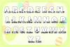 Easter Bunnies SVG Alphabet with A-Z Letters & Numbers example image 2