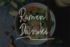 Hiroshima -  a  stylish  handwritten font example image 5