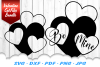 Valentines Hearts SVG DXF Cut Files Bundle example image 2