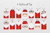 Santa Claus tags and cards example image 4