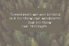 Pinecone - A Rough Handwritten Font example image 3