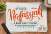 Nafasyah - Brushed Font Duo example image 1