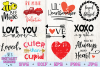 Valentines Bundle | Valentine's Day SVG Bundle | example image 2