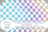 16 seamless Digital Papers - Pastel Gingham 1 inch - HC003 example image 4