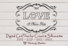 Love Never Fails SVG, Frame SVG, Love SVG- valentines day example image 1