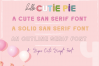 Hello Cutie Pie Font Collection example image 11