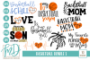 Basketball Bundle 2 SVG, DXF, AI, EPS, PNG, JPEG example image 1