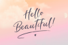 Pretty Peachy SVG Font Duo example image 10
