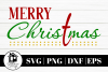 Merry Christmas 8 Design SVG | PNG | DXF | EPS example image 2