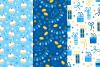 12 Hanukkah Seamless Patterns example image 2