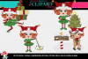 Christmas Elf Girls 8 example image 1