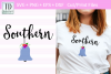 Southern Belle Cut / Print File, An SVG for the Southern Gal example image 1