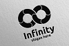 Infinity loop logo Design 13 example image 4