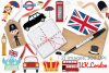 UK London Clipart, Instant Download Vector Art example image 4