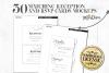 Wedding invitations layout pack example image 4