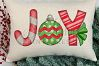 Christmas joy printable sublimation design example image 2