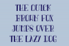 Arpeggio Curly Font example image 2