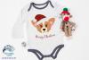 Santa Corgi SVG | Christmas Dog SVG Cut File example image 2