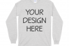 Gildan 5400 Long Sleeve Tshirt Mockups-16 example image 2