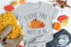I Love Fall Most of All SVG | Fall Pumpkin SVG Cut File example image 2