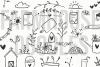 Farmhouse Doodles - Dingbat Font example image 8
